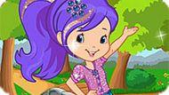 Игра Шарлотта Земляничка: Подготовь Черничку