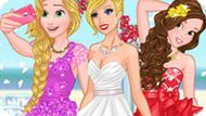 Игра Свадебное Селфи Барби И Принцесс Диснея