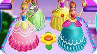 Игра Торт «Принцессы Диснея»