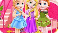 Игра Уборка В Комнате Принцесс Диснея