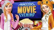 Игра Вечер Кино С Принцессами Диснея
