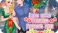 Игра Влюбленные Диснея: Сказочное Свидание Принцессы