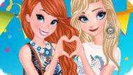 Игра Анна и Эльза: Фестивальное лето