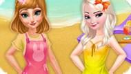 Игра Холодное сердце 8: Летний отпуск сестер