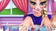 Игра Холодное сердце: Абсолютный макияж Эльзы