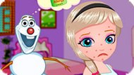 Игра Холодное сердце: Аллергия Эльзы