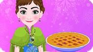 Игра Холодное сердце: Анна готовит французский пирог
