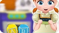 Игра Холодное сердце: Анна готовит кексы-кубики