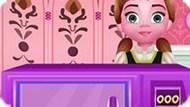 Игра Холодное сердце: Анна готовит морковно манговый пирог