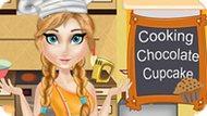 Игра Холодное сердце: Анна готовит шоколадные кексы