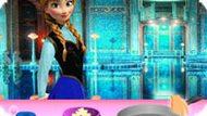 Игра Холодное сердце: Анна готовит шпинат