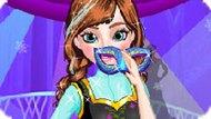 Игра Холодное сердце: Анна готовится к маскараду