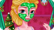 Игра Холодное сердце: Анна готовится к Рождеству