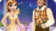 Игра Холодное сердце: Анна и Кристоф в День Валентина