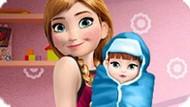 Игра Холодное сердце: Анна и новорожденный