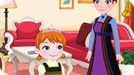 Игра Холодное сердце: Анна идет в поход