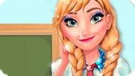 Игра Холодное сердце: Анна идет в школу
