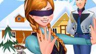 Игра Холодное сердце: Анна играет в прятки