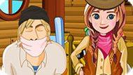 Игра Холодное сердце: Анна ковбой