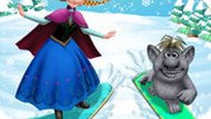 Игра Холодное сердце: Анна лечит Тролля