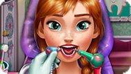 Игра Холодное сердце: Анна лечит зубы