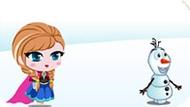 Игра Холодное сердце: Анна ловит Олафа