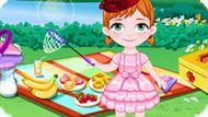 Игра Холодное сердце: Анна отправилась на пикник