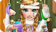 Игра Холодное сердце: Анна попала в больницу