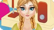 Игра Холодное сердце: Анна работает в ателье