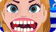Игра Холодное сердце: Анна у зубного врача
