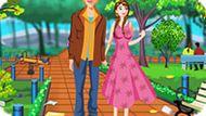 Игра Холодное сердце: Анна убирает в парке