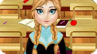 Игра Холодное сердце: Анна убирает в школьном классе