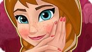 Игра Холодное сердце: Анна в маникюрном салоне