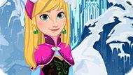 Игра Холодное сердце: Анна в парикмахерской