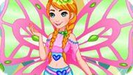Игра Холодное сердце: Анна в стиле Винкс
