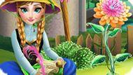 Игра Холодное сердце: Анна выращивает цветок