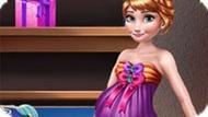 Игра Холодное сердце: Беременная Анна открывает подарки
