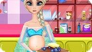 Игра Холодное сердце: Беременная Эльза готовит блины