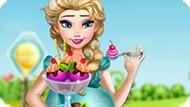 Игра Холодное сердце: Беременная Эльза готовит мороженое