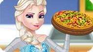 Игра Холодное сердце: Беременная Эльза готовит пиццу