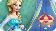 Игра Холодное сердце: Беременная Эльза украшает комнату
