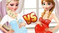 Игра Холодное сердце: Беременные принцессы