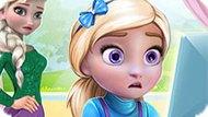 Игра Холодное сердце: Безделье дочери Эльзы