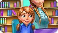 Игра Холодное сердце: Безделье малышки Анны