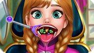 Игра Холодное сердце: Больное горло Анны