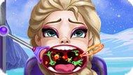 Игра Холодное сердце: Больное горло Эльзы