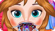 Игра Холодное сердце: Больное горло принцессы Анны