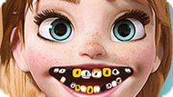 Игра Холодное сердце: Больные зубы Анны