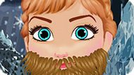 Игра Холодное сердце: Брить бороду Анне