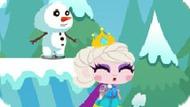 Игра Холодное сердце бродилка на двоих: Спасти принцессу 2